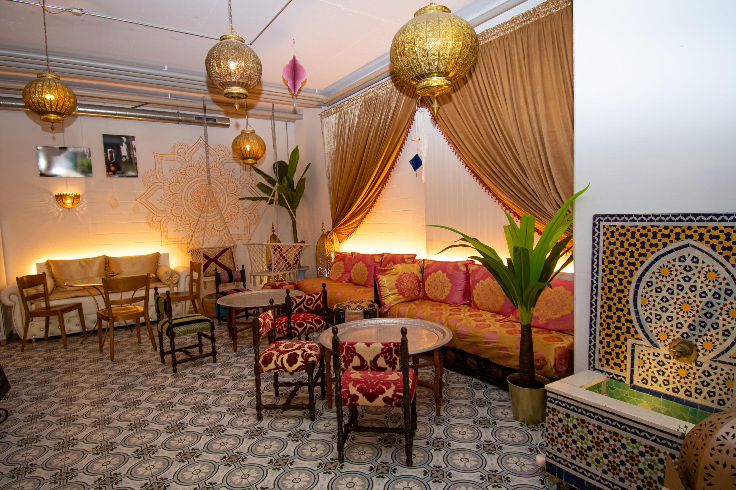 Eventlokal im orientalischen Stil in Albisrieden, Vipfitstyle, bis 20 Personen, Lokal, Events